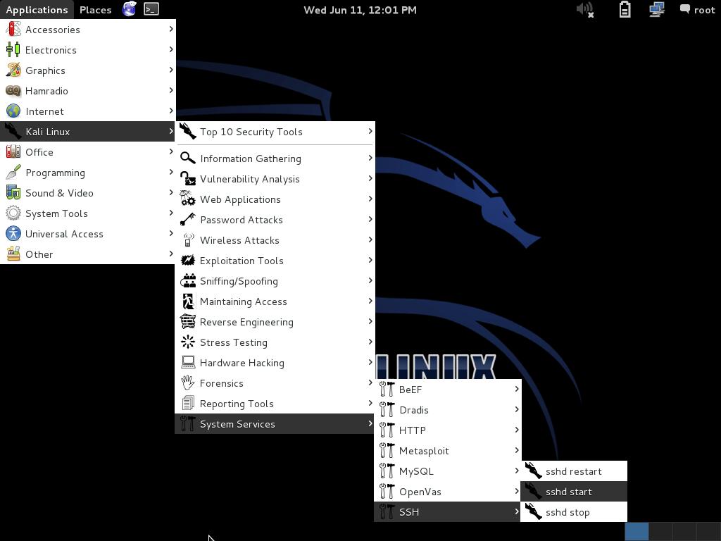 SSH Server In Kali Linux-image01