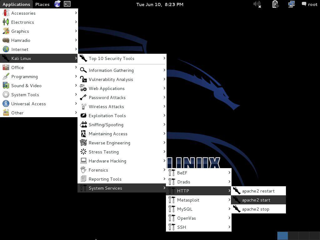 Web Server In Kali Linux_image01
