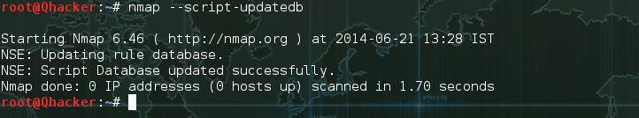 --script-updatedb in nmap