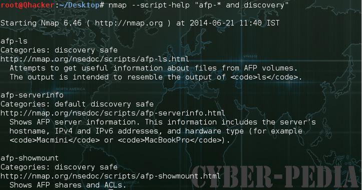 --script-help in nmap