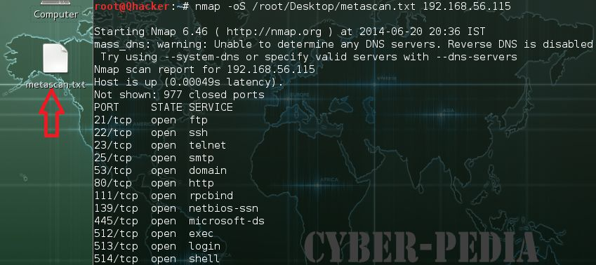 -oG GREPable Output in Nmap
