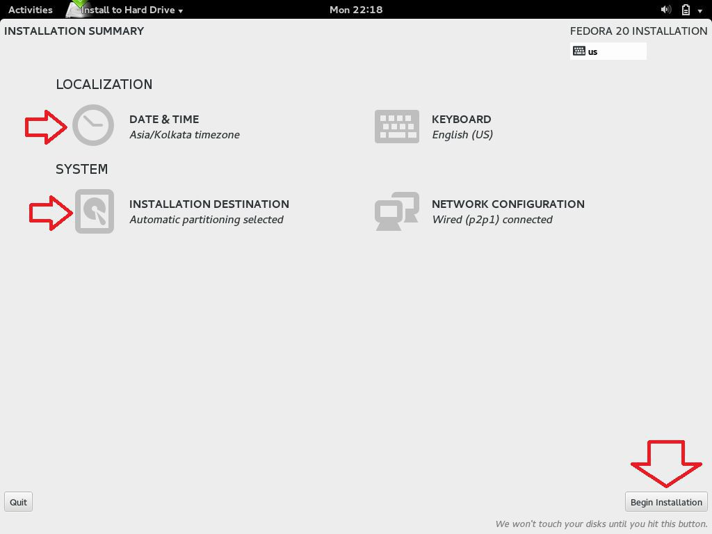 Installation of Fedora Disk configuration 01.jpg