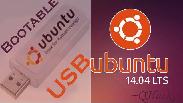 make bootable Live USB/Pendrive Ubuntu