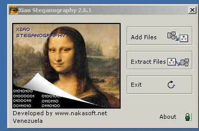 Xiao Steganography tool
