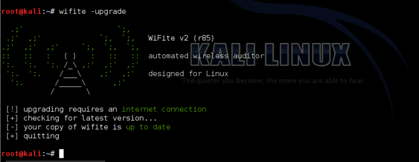 wifite wifi hacking software