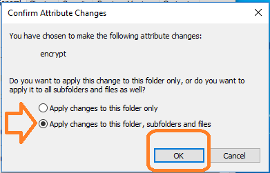 confirming attribute changes