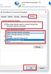 Microsoft hosted virtual adapter
